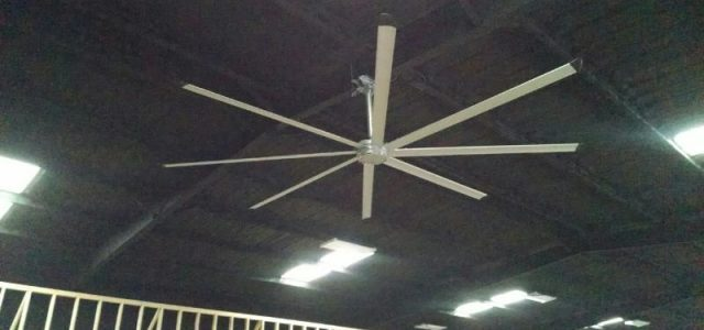 Big Ass Ceiling Fan Install